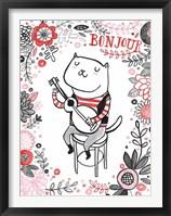 Framed Cats of Paris - Musician