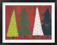 Framed Christmas Tree Delight I
