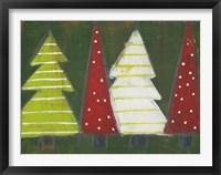 Framed Christmas Tree Delight II