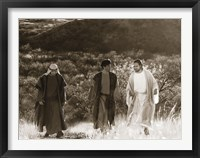 Framed Road to Emmaus
