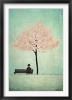 Framed Cherry Tree - Spring
