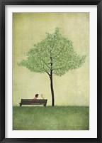 Framed Cherry Tree - Summer