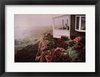 Framed Rockport Garden