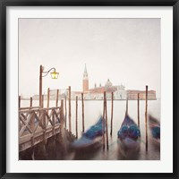 Framed Venice Twilight