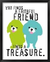 Framed Faithful Friend