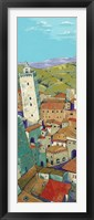 Framed Rooftops of San Gimignano