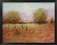 Framed Cranes in September
