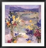 Framed Tuscany Floral