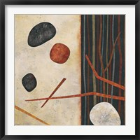 Framed Sticks and Stones II
