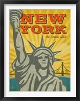 Framed New York - The Empire State