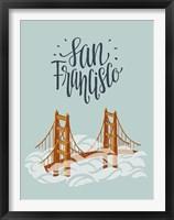 Framed San Francisco Travel