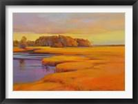 Framed Autumn Marsh