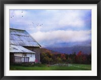 Framed Vermont Afternoon