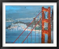 Framed Twilight San Francisco