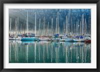 Framed Hout Bay Harbor, Hout Bay South Africa