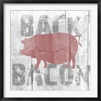 Framed Back Bacon
