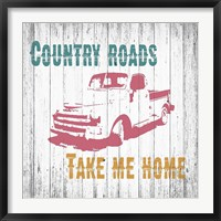 Framed Country Roads