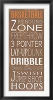 Framed Basketball