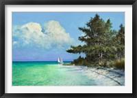 Framed Cayo Costa Beach