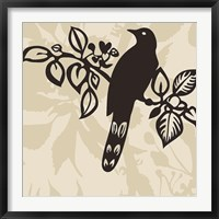 Framed Song Bird 1