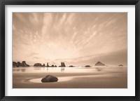 Framed Morning on the Beach