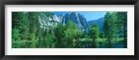 Framed Yosemite Falls & Merced