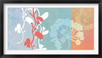 Framed Coral Flowers