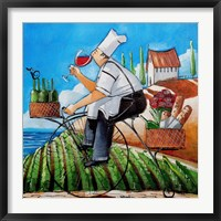 Framed Chef's Delivery
