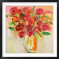 Framed Floral Afternoon