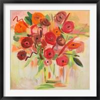 Framed Floral Morning