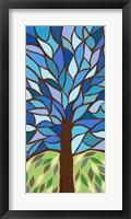 Framed Tree of Life - Blue