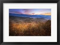 Framed Blue Ridges