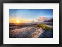 Framed Dunes On The Pacific Coastline