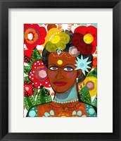 Framed Ipanema Girl