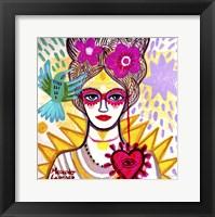 Framed Lady Antoniette