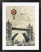 Framed Tower Bridge Balloon