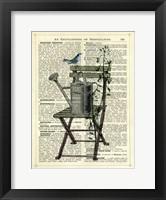 Framed Gardener's Chair