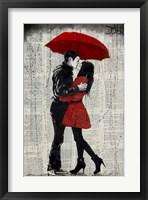 Framed Rain Kisses