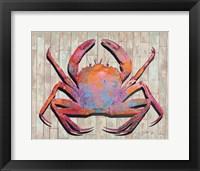 Framed Contemporary Crab I