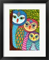 Framed Night Owls 20