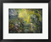 Framed Dryad And The Dragonfly