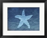 Framed Gypsy Blue Cyanotype V6