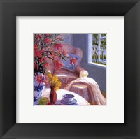 Pink Chair Framed Print