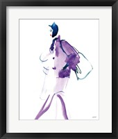 Colorful Fashion IV Framed Print