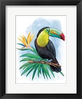 Framed Tropical Flair IV