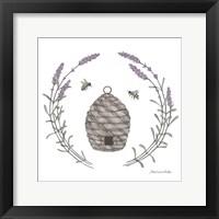 Framed Happy to Bee Home II