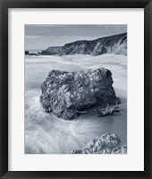 Framed California Coast Crop