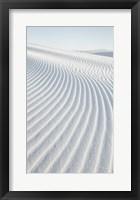 Framed White Sands I no Border