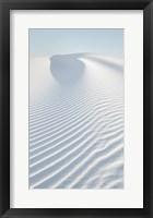 Framed White Sands II no Border