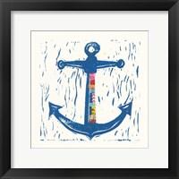 Framed Nautical Collage III